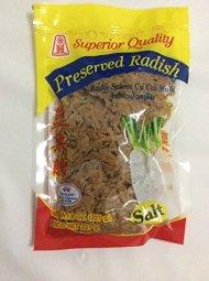Preserved Salted Radish – Superior Quality – shredded – 8 oz / 227 grams
