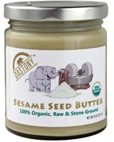 Dastony – Stone Ground Nut & Seed Butters: 01/8 oz Jar of Organic Sesame (Tahini) 100%