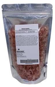 Indusclassic Kosher Pure Natural Unprocessed Himalayan Edible Pink Cooking Coarse Grain Salt (1 lbs Coarse Grain 3~6mm)
