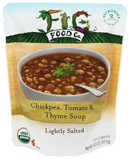 Fig Food Company – Organic Chickpea, Tomato & Thyme Soup – 14.5 oz.