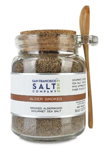 8 Oz Chef's Jar – Alderwood Smoked Sea Salt