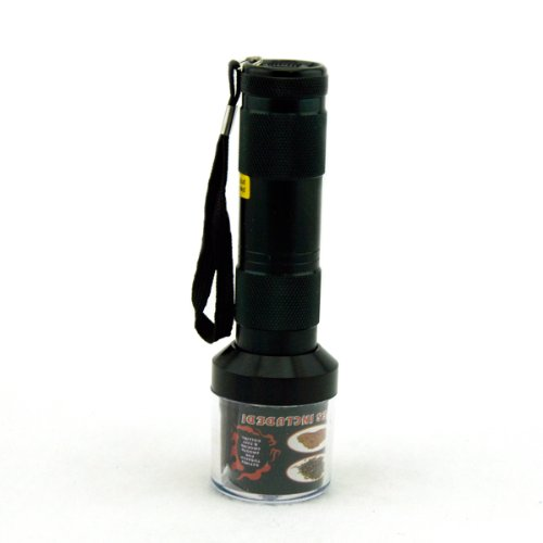 Prosmoker Electric Grinder Tabcco Spice Herb Grinder 2nd Generation Black