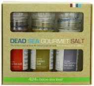 Salt 424 Three Grinder Pack 100% Organic Salts, Merlot, Iodine and 24K Gold, 25.11 Ounce