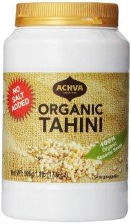 Achva Organic Tahini, 17.6 Ounce