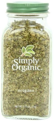Simply Organic Oregano Leaf Cut & Sifted Certified Organic, .75-Ounce Container