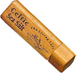 Celtic Sea Salt ~ Travel Size ~ Refillable Twist Top Salt Box