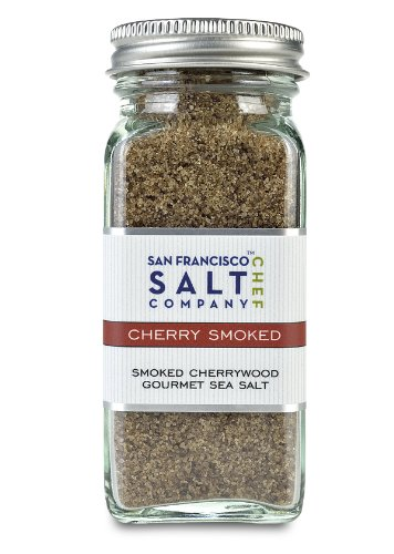 4 Oz Glass Shaker – Cherrywood Smoked Sea Salt