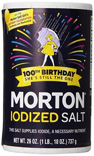 Morton Iodized Salt, 26 oz