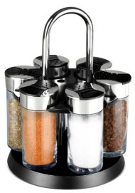 Home Basics 7-Piece Revolving Spice Rack