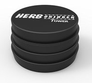 Herb Grinder Tower Large 2.5 Inch 4-Piece #1 Best Herb & Spice Mill – Solid Aerospace Aluminum