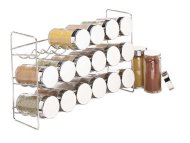 Polder 5429-05 18-Bottle Spice Rack