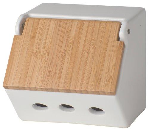 Now Designs Takenoko Garlic Keeper, White