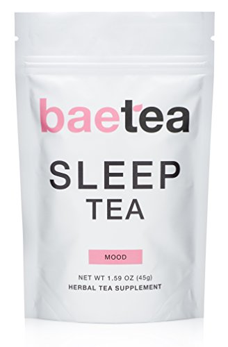 Baetea Sleep Tea: Reduce Stress & Promote Sleep, 30 Servings, with Chamomile & Potent Traditional Organic Herbs, Ultimate Way to Relax The Mind and Body