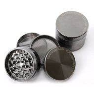 Chromium Crusher 2 Inch 4 Piece Tobacco Spice Herb Grinder – Gun Metal