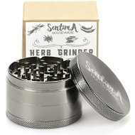 Sentima Tobacco Spice Weed Herb Grinder with Pollen Catcher – 2.5 Inch 4 Piece Heavy Duty Zinc Alloy – 50 Strong Teeth for Fine Grinding