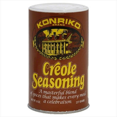Konriko, Creole Seasoning, 6oz Canister (Pack of 6)