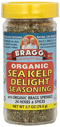 Bragg Organic Herbs And Spices Seasoning – Sea Kelp – 2.7 Ounces