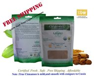 Certified Organic 1 LB/ 456g Pure Ceylon/True Cinnamon Powder(C.Zeylanicum)Sulfur Free-Gourmet(152gx3)