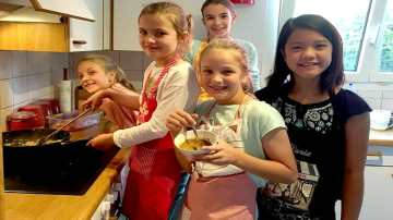 Children cooking classes in Basel, Bern, Zurich Switzerland