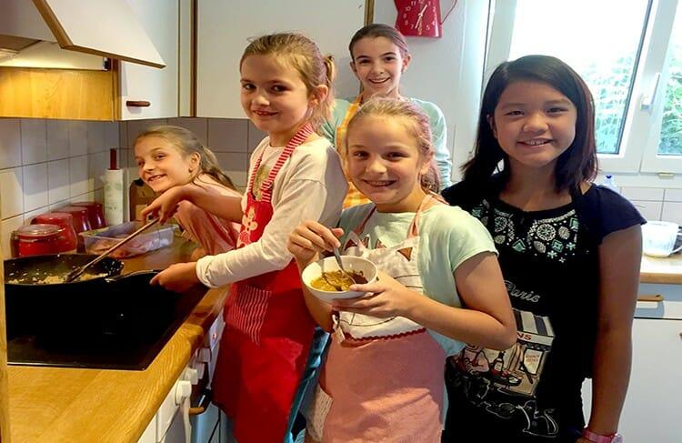Children cooking classes in Basel, Bern, Zurich Switzerland