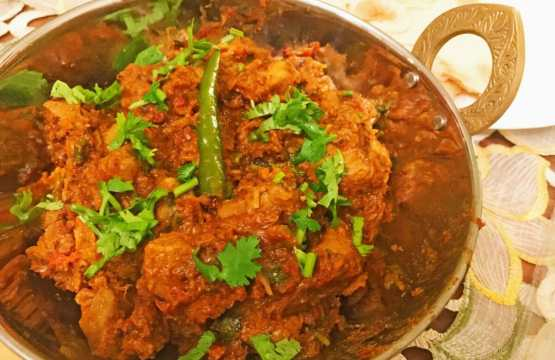 Easy Lamb Bhuna recipe made with homemade Spice blend