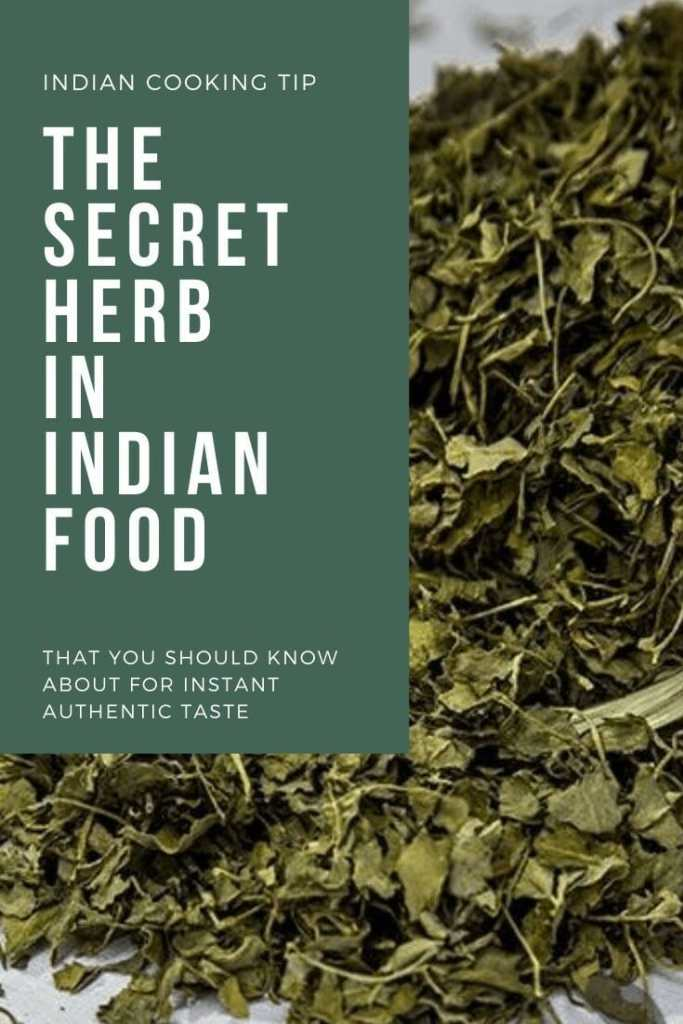 dried fenugreek leaves and how to cook with it