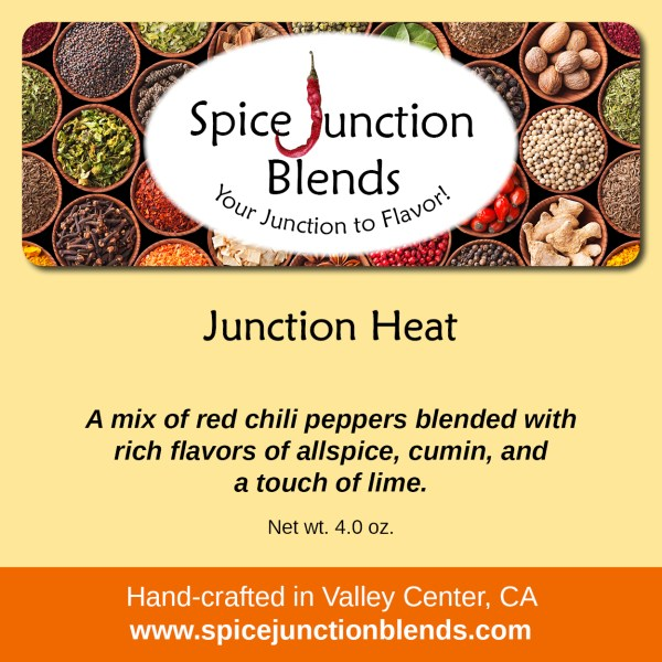 Junction Heat Blend | Spice Junction Blends, Valley Center, California