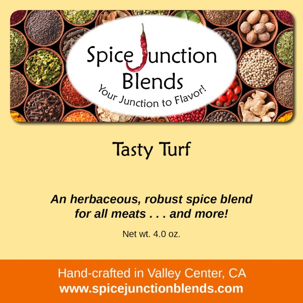 Tasty Turf Blend | Spice Junction Blends, Valley Center, California