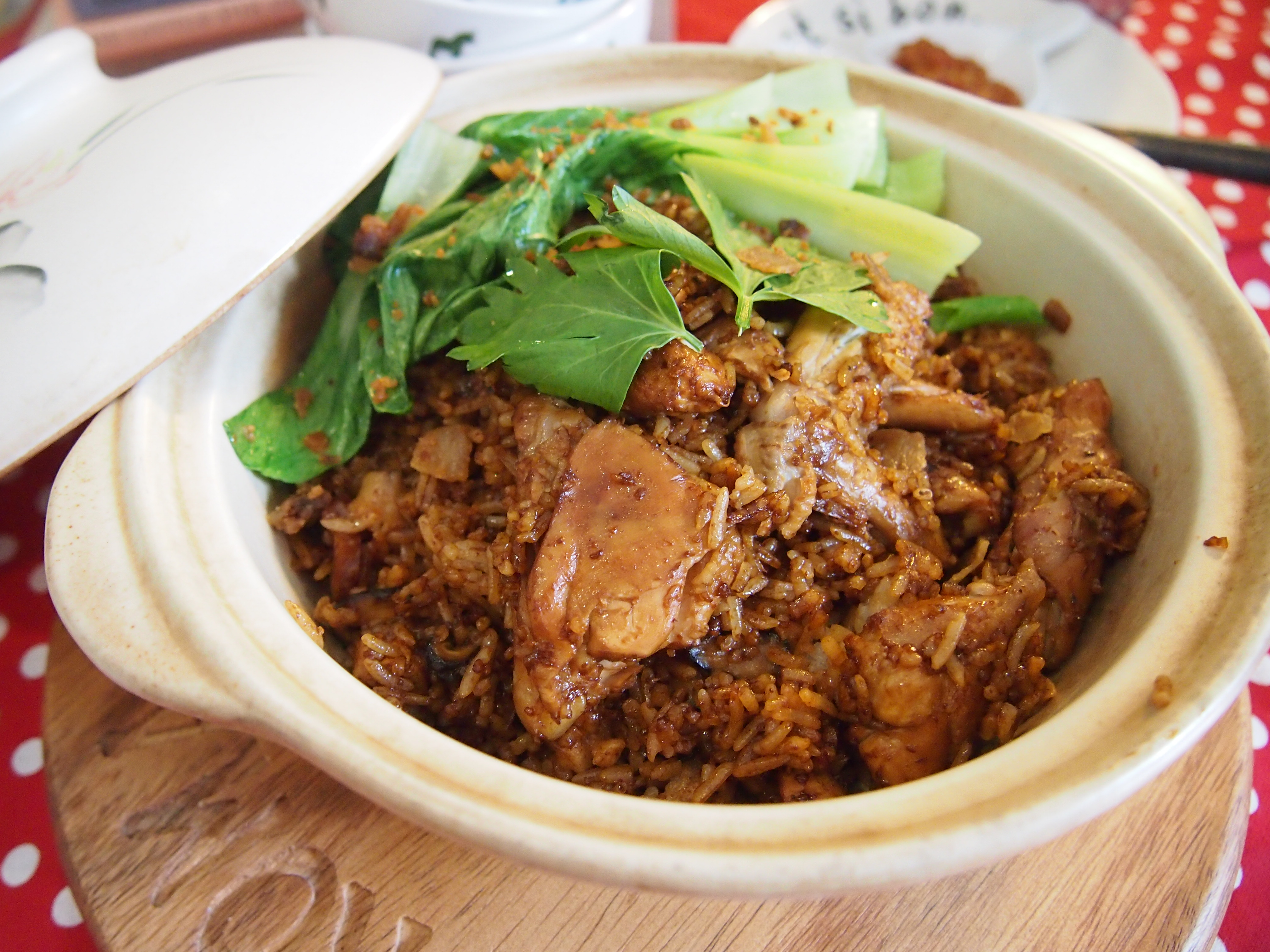 Easy Rice Cooker Recipe: Claypot Rice // 电饭锅食谱:砂锅饭