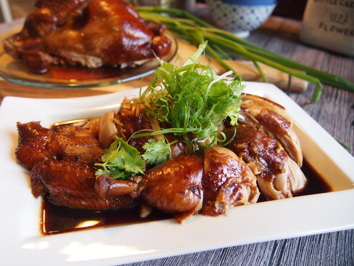 SUPER EASY Soya Sauce Chicken with Chinese Rose Wine 玫瑰露