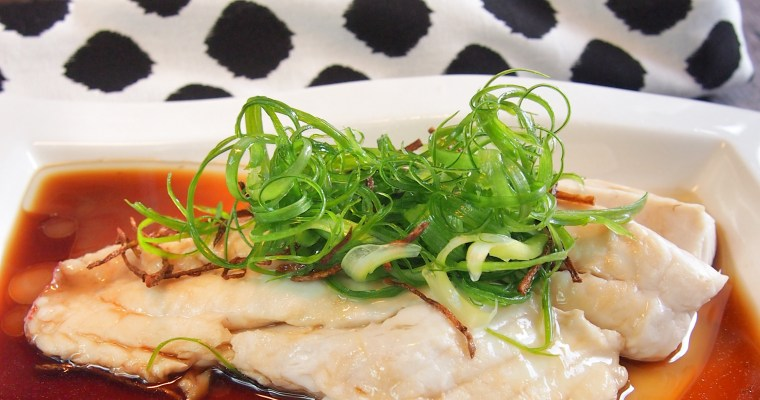 SUPER EASY Chinese Steamed Fish Recipe 中式蒸鱼