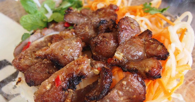 SUPER YUMMY Bun Thit Nuong | Vietnamese Grilled Pork Noodle Salad Recipe
