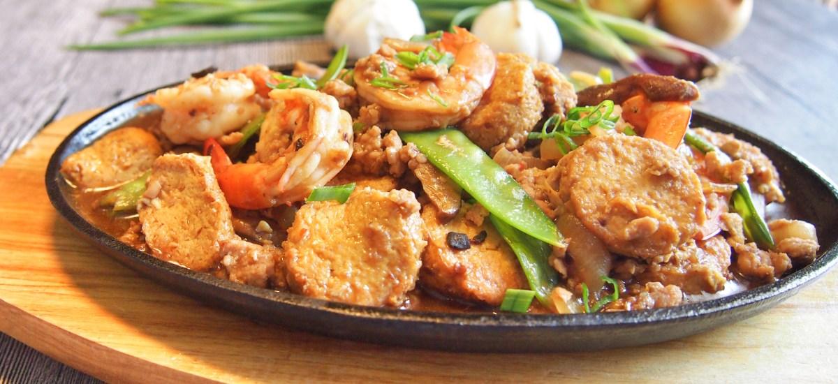 SUPER EASY Stir Fry Tofu Recipe 铁板豆腐 Hotplate Tofu