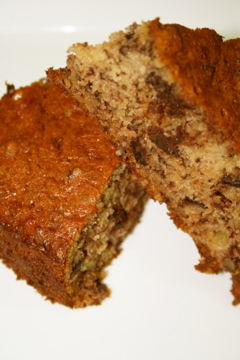 Dark Chocolate Banana Bread © Spice or DIe