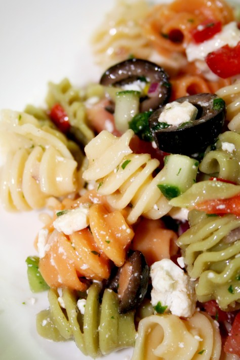 Greek Pasta Salad © Spice or Die