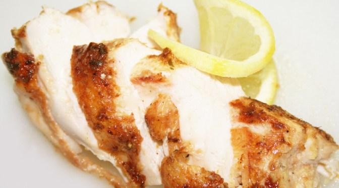 Grilled Ginger Lemon Chicken