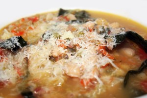 Ribollita © Photo by Angela Gunder