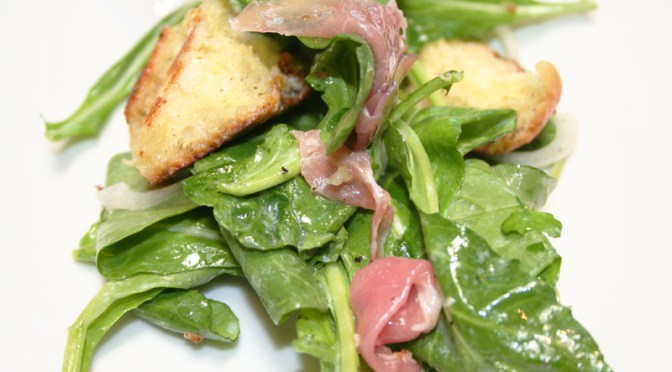 Arugula Salad with Truffle Vinaigrette