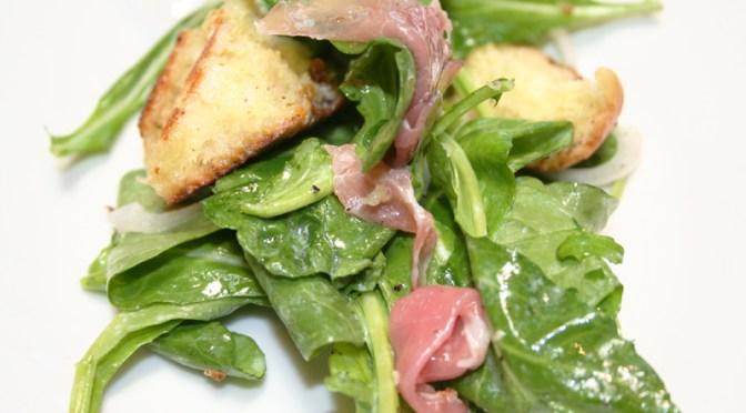 Arugula Salad with Truffle Vinaigrette