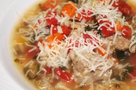 Italian Sausage and Wild Rice Soup © Spice or Die