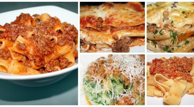 Bolognese Recipes and Link Roundup