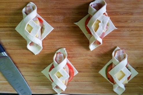 Bacon Pesto Pastries (3)