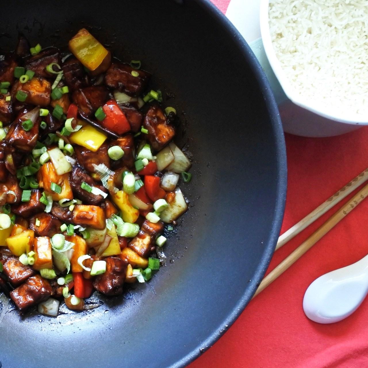 Sweet and Sour Tofu (10)
