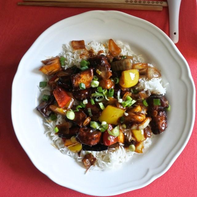 Sweet and Sour Tofu (8)