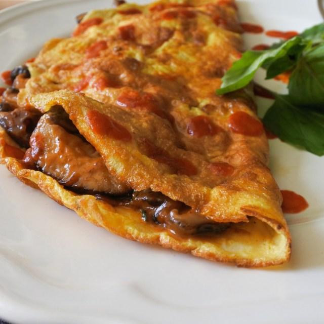 Thai Chili Mushroom Omelette (1)