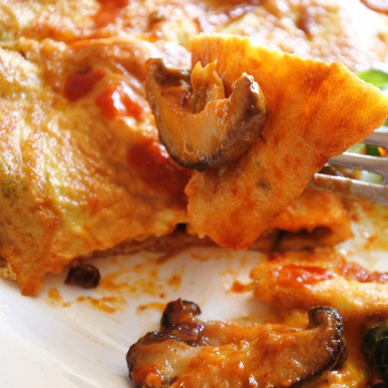 Thai Chili Mushroom Omelette (2)