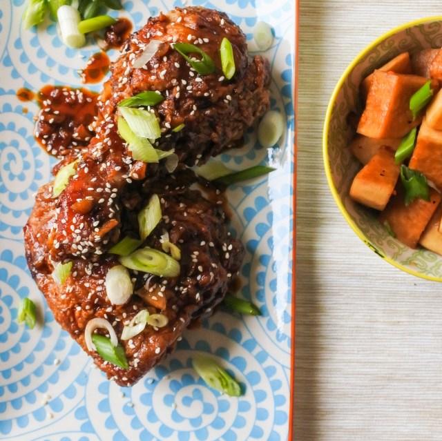 Garlic and ginger fried chicken 15