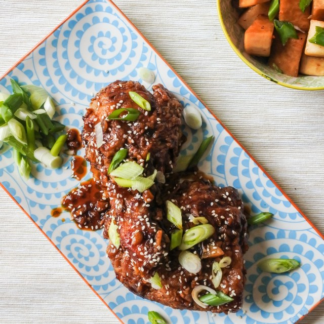 Garlic and ginger fried chicken 17