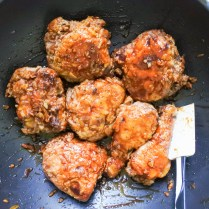 Garlic and ginger fried chicken 2