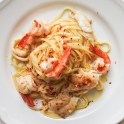 Spicy Seafood Linguine